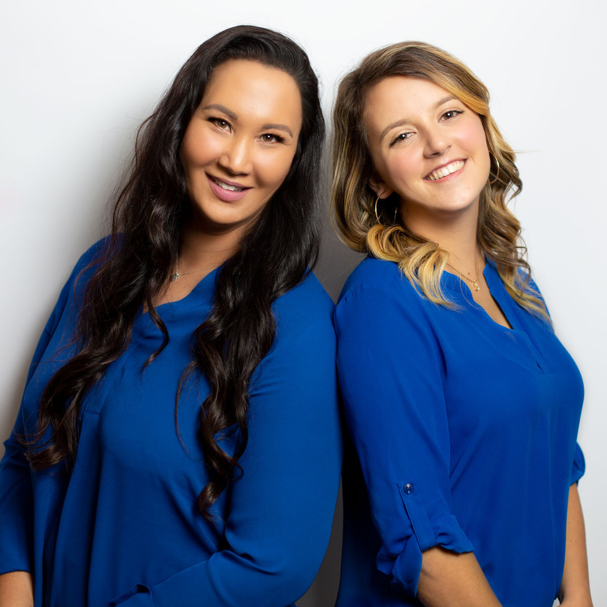 Agents Tina Brooks and Taylor Maples